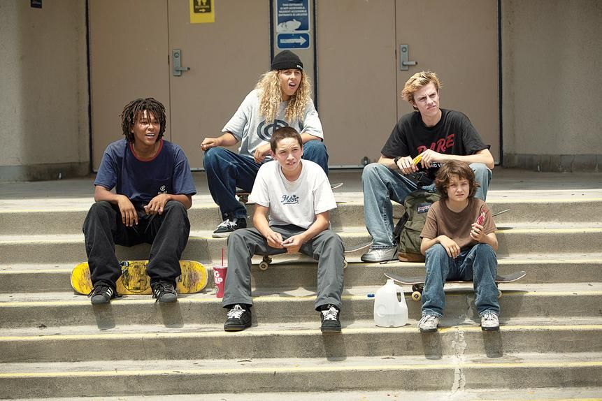 """THE KIDS ARE ALRIGHT """"Jonah just came at me as a friend,"""" says Sunny Suljic, bottom right with the cast of Hill's Mid90s. """"He made it comfortable for me and the cast to just, like, go all out."""""""