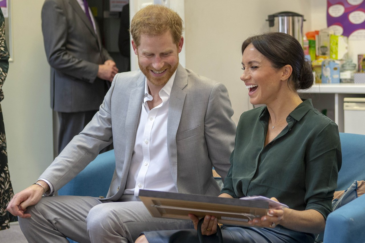 Meghan Markle Got a Drawing That Made Her Laugh Out Loud 2