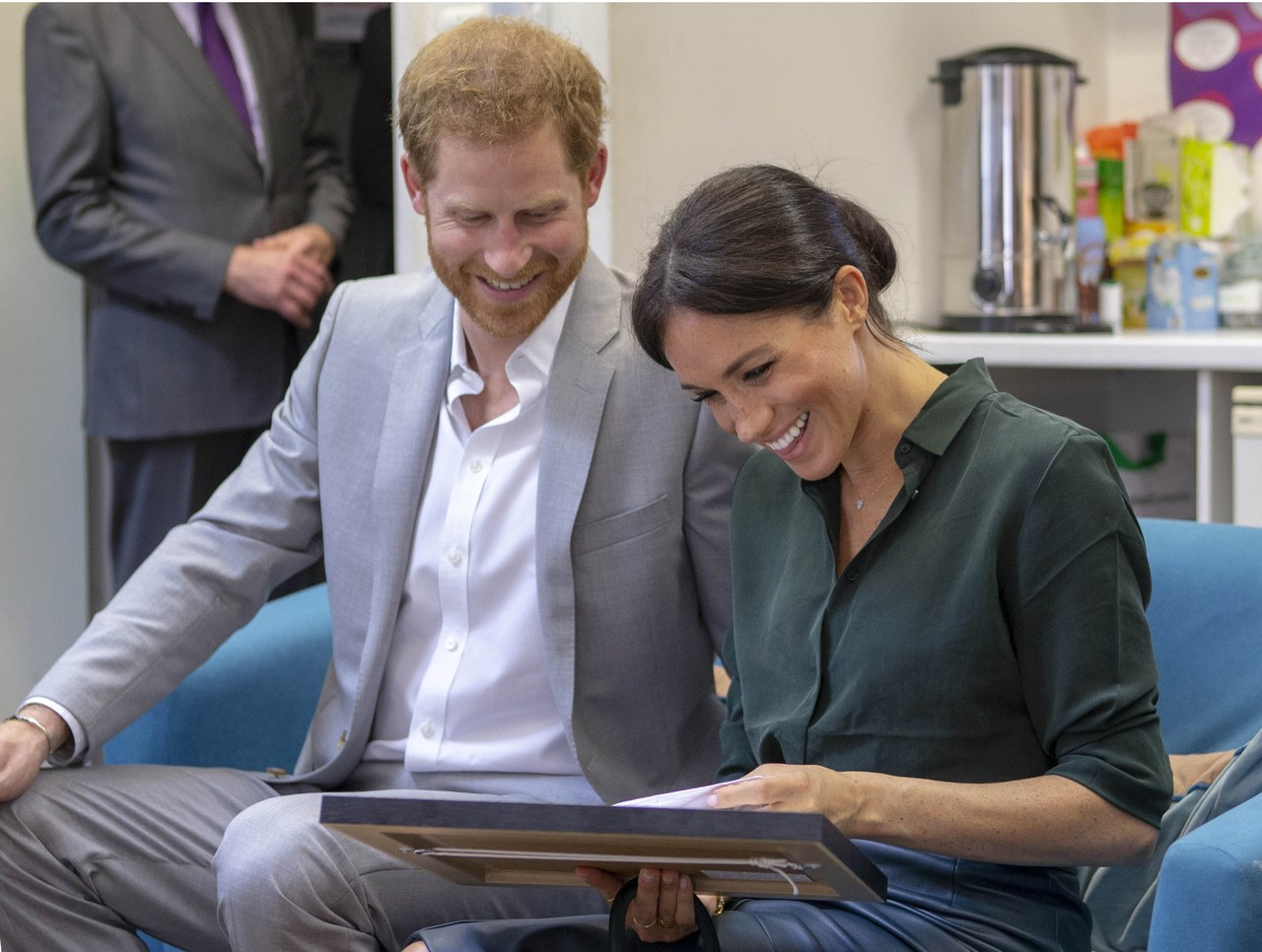 Meghan Markle Got a Drawing That Made Her Laugh Out Loud 3