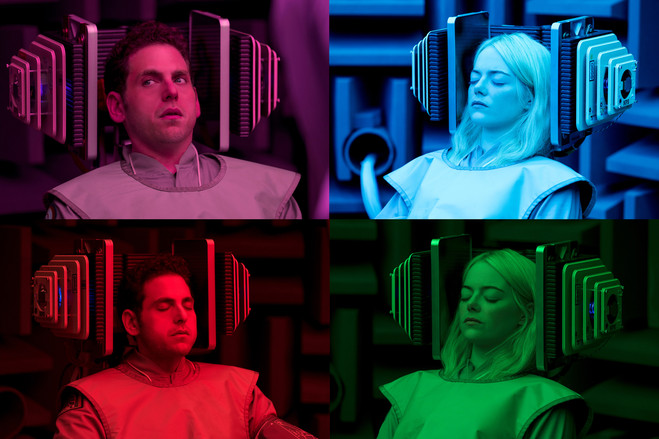 Jonah Hill and Emma Stone star in the Netflix series 'Maniac.'