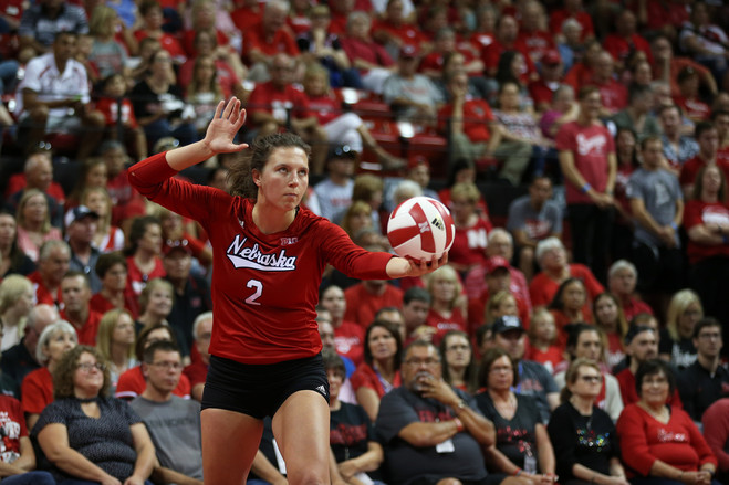 Ms. Foecke, a senior, has already surpassed 1,000 kills—unreturnable spikes or attacks that lead to a point—in her college volleyball career.