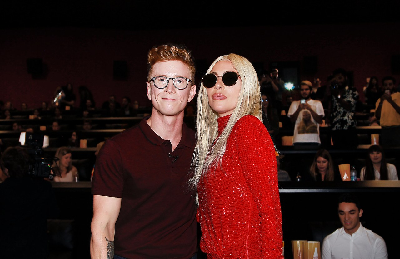 Lady Gaga Surprises Fans at A Star Is Born Screening 2