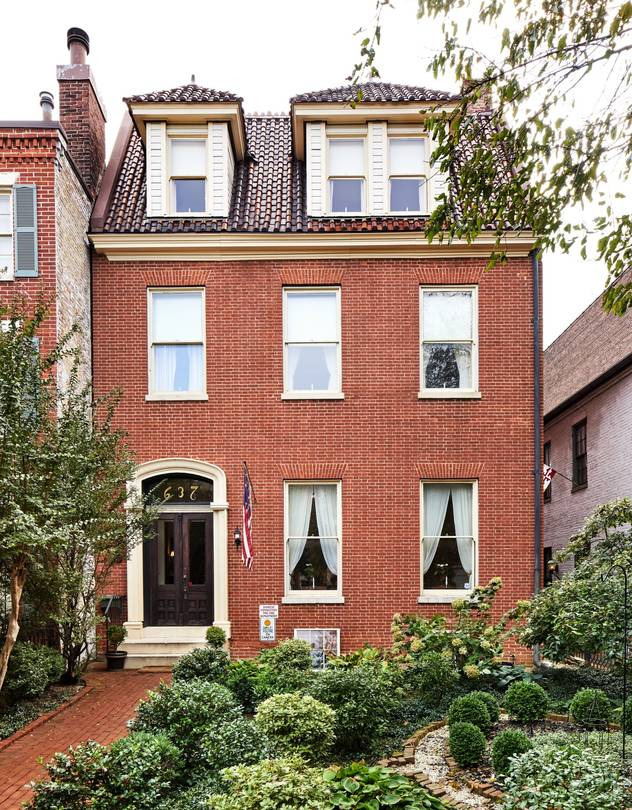 Rachael's Dowry Bed and Breakfast occupies a historic 1798 home in Baltimore and is owned by Linda Smith.