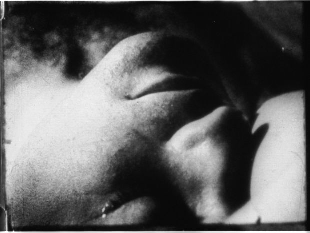 Andy Warhol's 1963 film 'Sleep.'