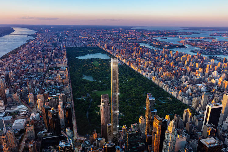 Gary Barnett kicked off the U.S. condo boom with One57. Central Park Tower, shown in a rendering, is the company's latest project on Manhattan's Billionaires' Row.