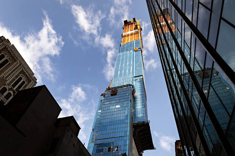 Of the 179 units in Central Park Tower, no fewer than 18 are priced above $60 million.