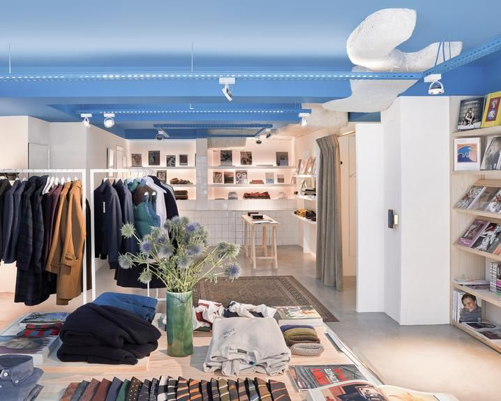 Beige, a store in Paris's 16th Arrondissement features a curated assortment of brands from around the world.