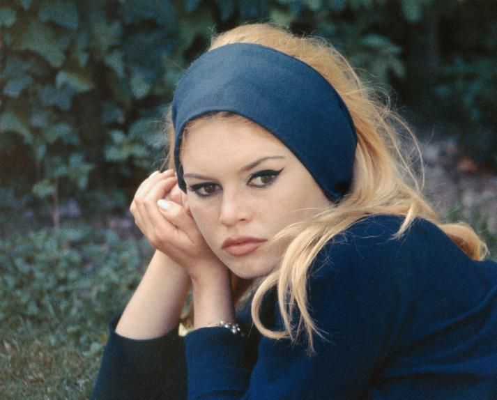 THE MUSE AND THE TOOLS Brigitte Bardot on the set of 'Contempt' in 1963.