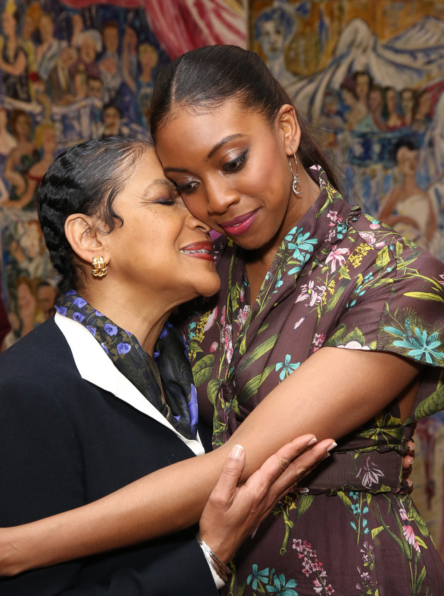 Ms. Rashad, left, with her daughter Condola Rashad, who is also an actress.
