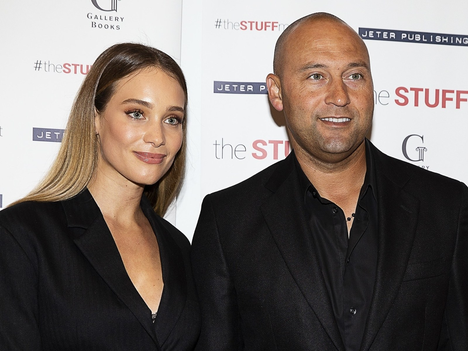 Hannah and Derek Jeter attend an event in NYC.