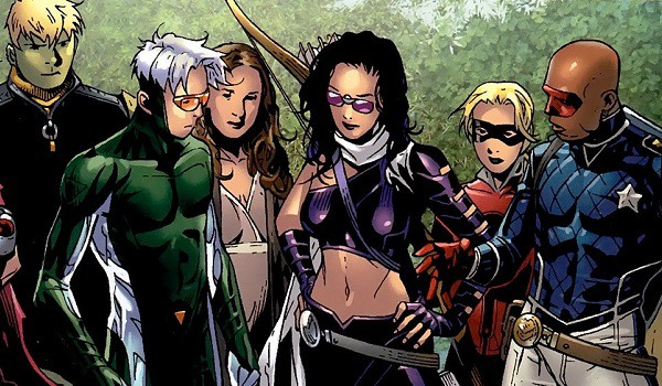 Young Avengers Marvel