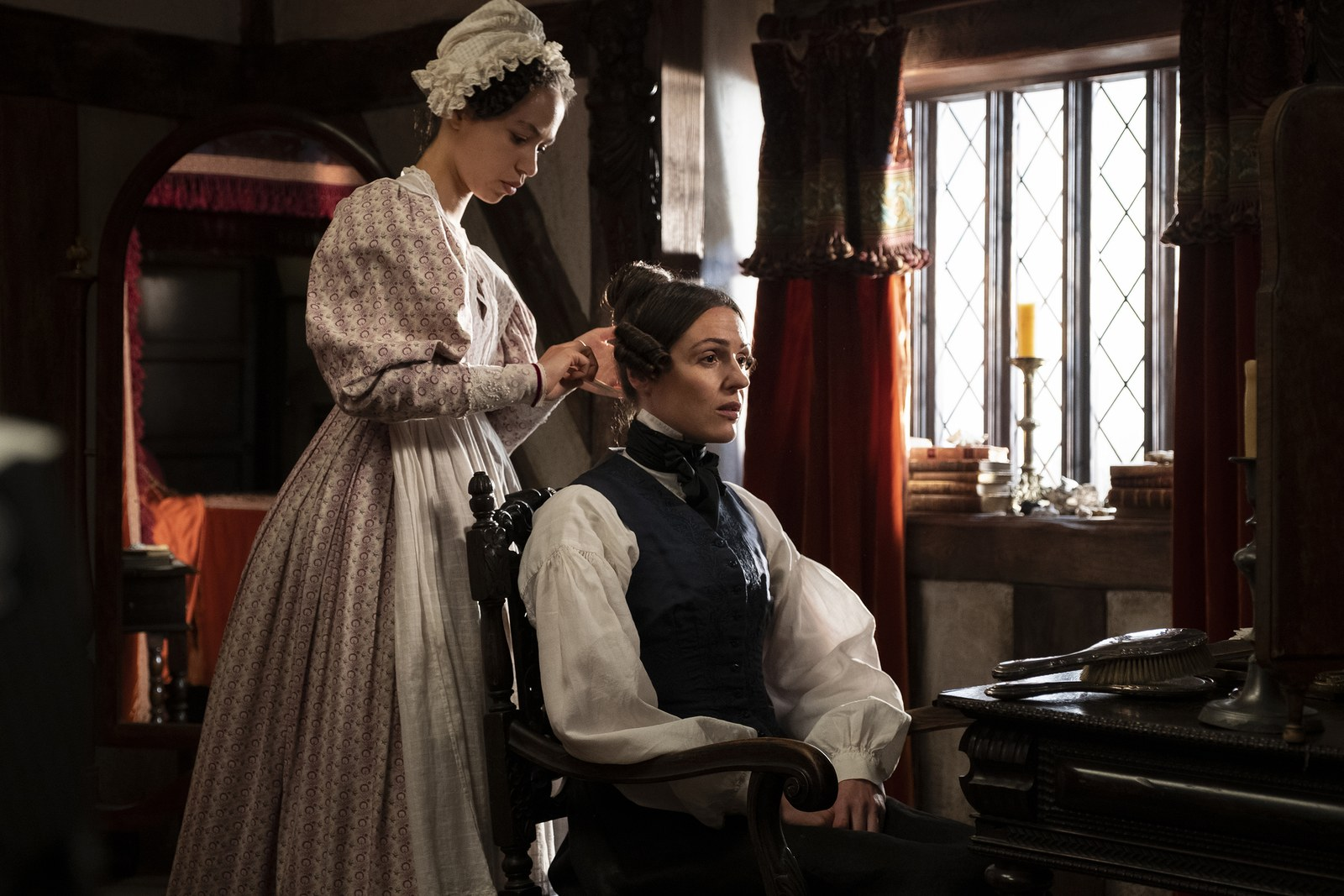 A scene from Gentleman Jack on HBO