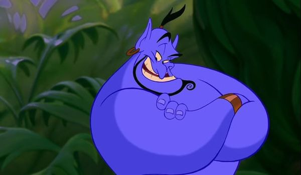 Robin Williams' Genie is simply iconic