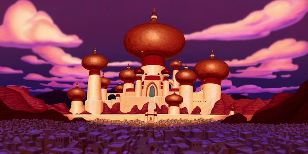 The kingdom of Agrabah, barbaric?
