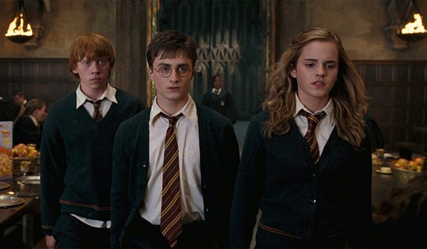 Harry Potter And The Order Of The Phoenix's Harry, Ron And Hermione