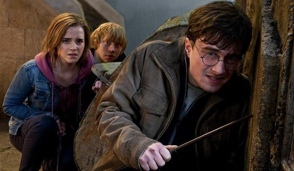 Harry Potter And The Deathly Hallows; Part 2, does Harry have a mustache?