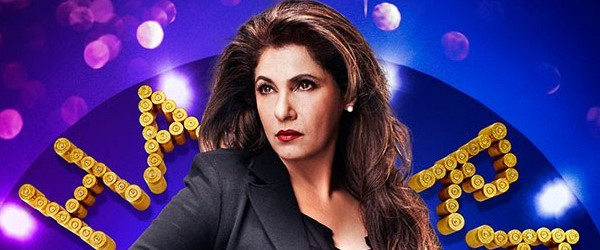 Welcome Back Dimple Kapadia posing in the poster art