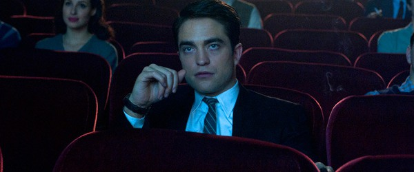 Life Robert Pattinson sitting in a theater, watching a movie