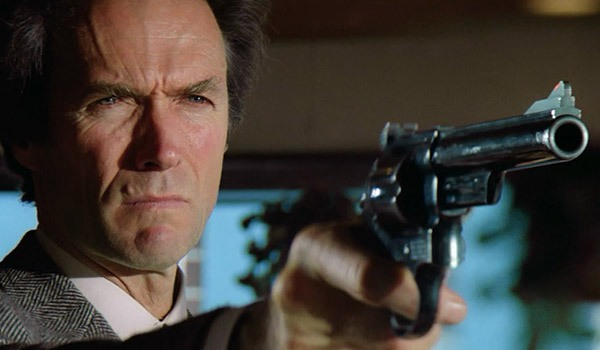 Clint Eastwood as Dirty Harry in Sudden Impact