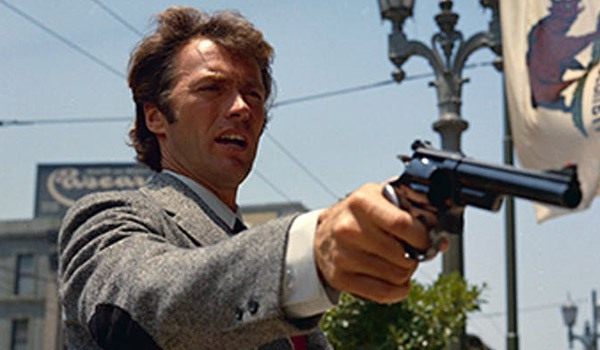 Clint Eastwood in Dirty Harry