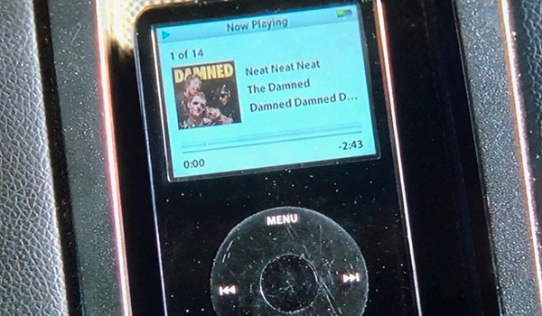 Neat Neat Neat by The Damned on on Baby's iPod