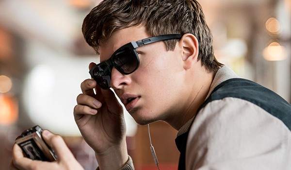 Ansel Elgort as Baby in Baby Driver