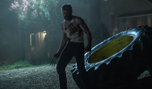 Wolverine claws out in Logan