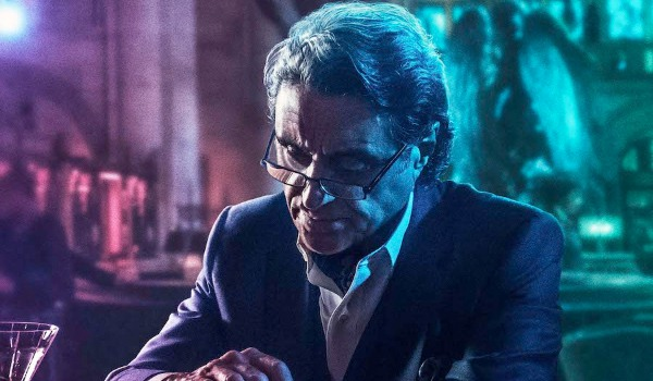John Wick: Chapter 3 Winston having a somber drink at the bar