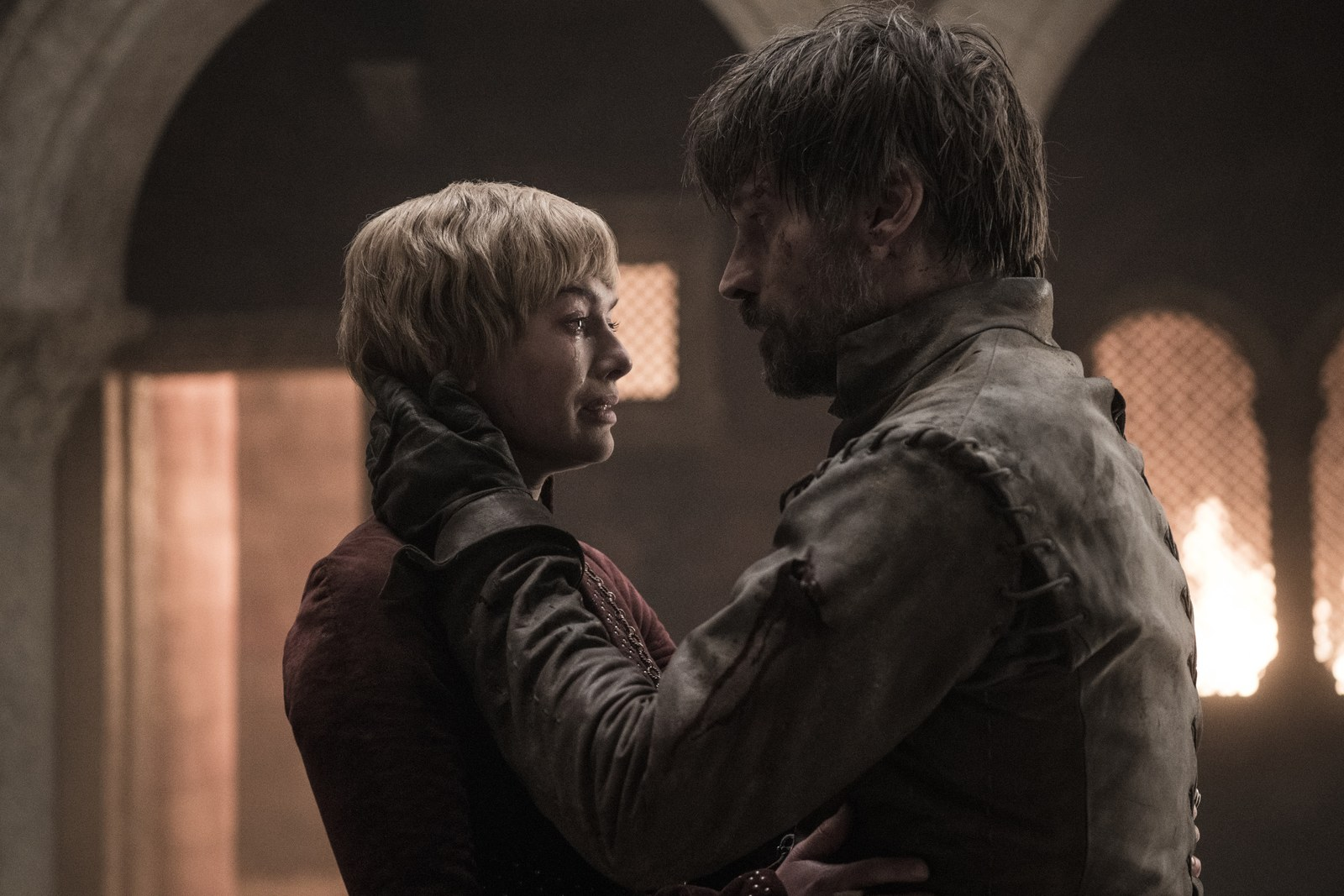 Jaime and Cersei Lannister in season 8 of Game of Thrones.