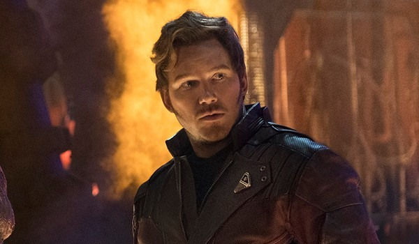 Star Lord in Infinity War