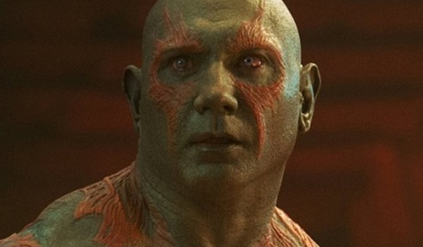 Drax in Guardians of the Galaxy Vol. 2