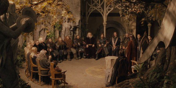 The Council of Elrond - The Lord of the Rings: The Fellowship of the Ring