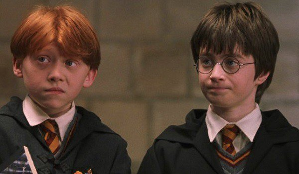 Ron And Harry Potter