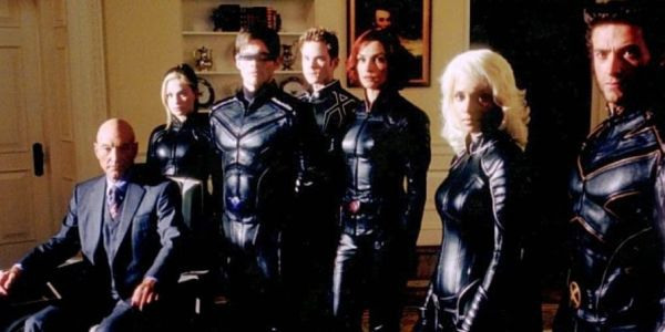 Original X-Men movie team