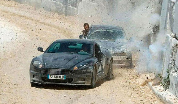 The car chase in Italy in Quantum Of Solace