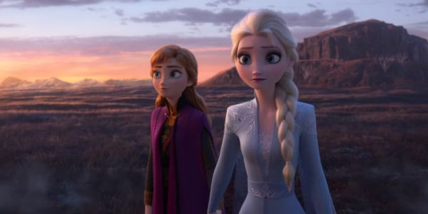 Anna and Elsa in Frozen II