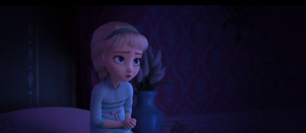 young elsa in Frozen II