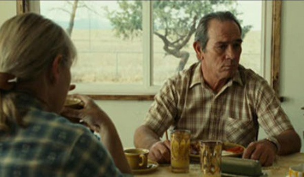 Tommy Lee Jones as Ed Tom Bell reveals his dreams to his wife in No Country For Old Men