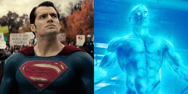 Who will be the victor: Superman or Dr. Manhattan?