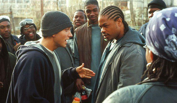 Eminem on the streets in 8 Mile