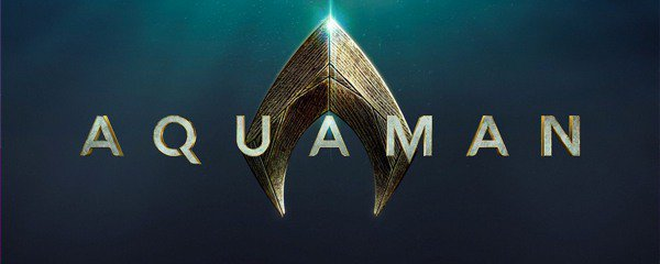 Aquaman logo movie