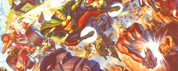 The New Gods Alex Ross art