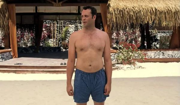 Couples Retreat vince vaughn with his shirt off