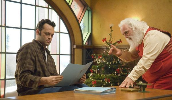 Fred Claus with Santa