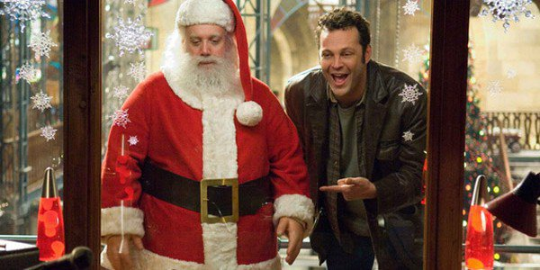 Vince Vaughn and Paul Giamatti in Fred Claus