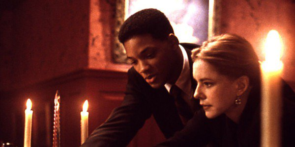 Will Smith with Stockard Channing in Six Degrees of Separation