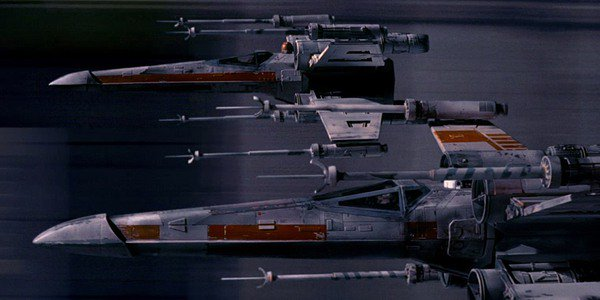 X-wings in a new hope
