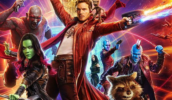 Guardians of The Galaxy cast promo