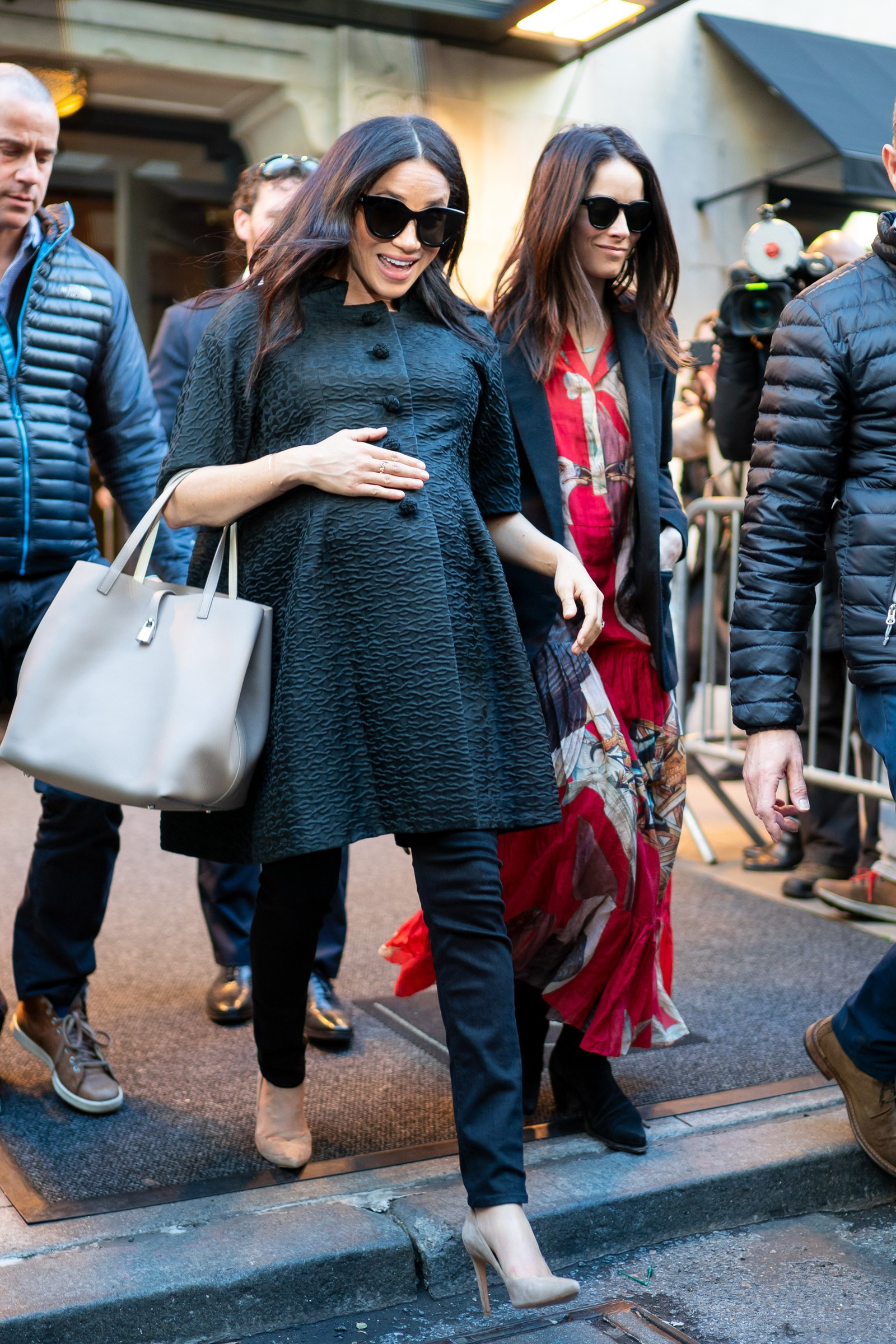 meghan markle and Abigail Spencer in new york city