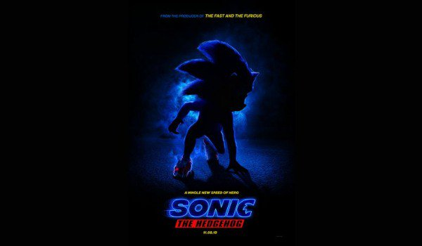 Sonic The Hedgehog the motion poster
